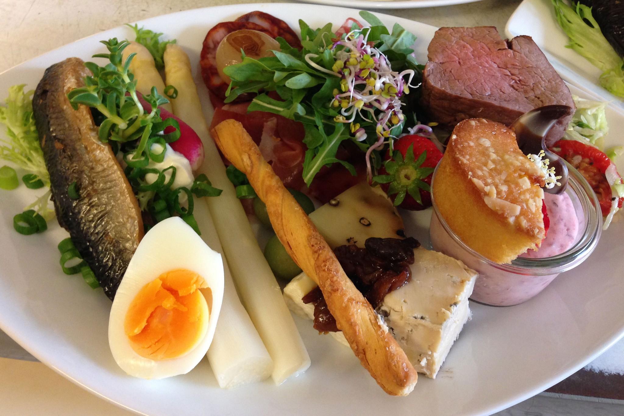 Frokost, Smørrebrød, Sandwich og Tapas